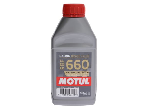MOTUL RBF 660 – Racing Brake Fluid 0,5L