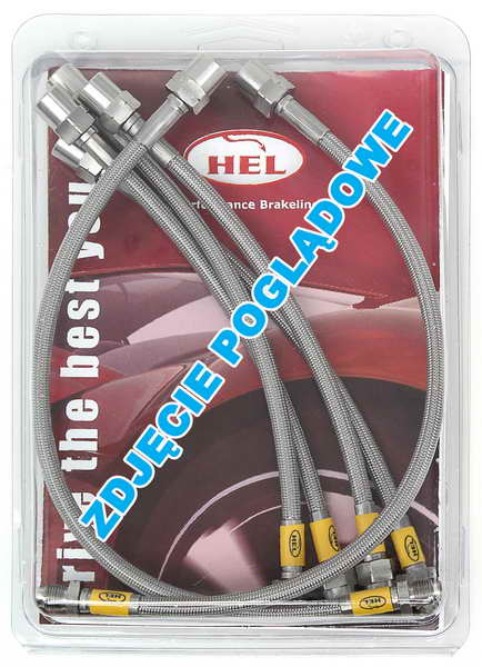 HEL Performance Braided Brake Hoses for BMW E36
