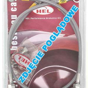 HEL Braided Brake Hoses for Lancer Evo X 10